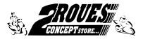 2Roues concept Store le spécialiste Moto et scooter à Nantes